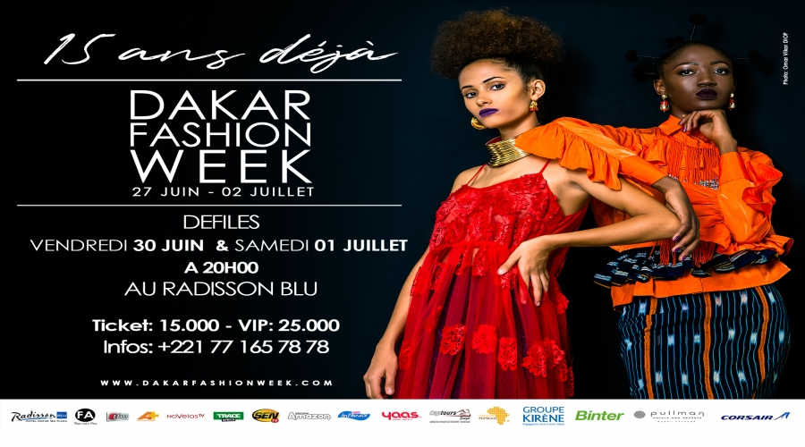Dakar Fashion Week 2017 : quinze ans au service de la mode